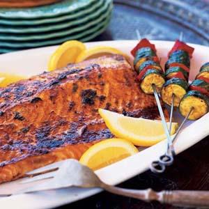 دستور پخت ماهی سالمون کبابی