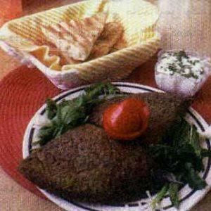 آشپزی کوکوی سبزی با اشپل ماهی
