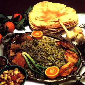 دستور آشپزی سبزی پلو ماهی